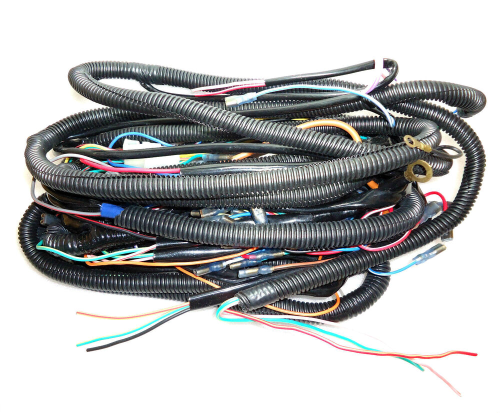 hight resolution of details about new brand massey ferguson 1035 wiring loom assembly all wiring cable