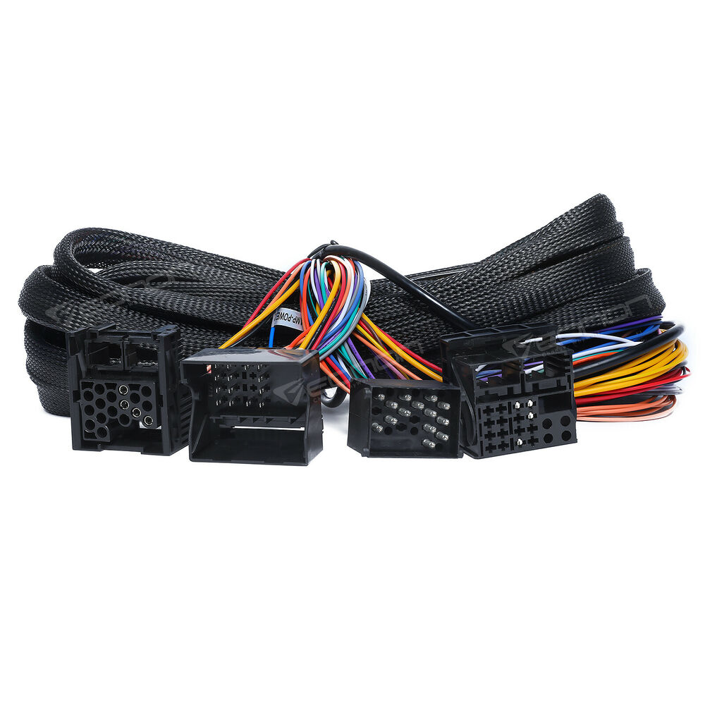 medium resolution of details about a0579 extended wiring harness 17pin 40pin for bmw e46 e39 x5 e53 ga8201 ga9150kw