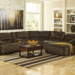 6 Piece Living Room Set Pictures Of Casual Rooms Power Reclining Pieces Sofa Sectional Brown Microfiber Details About If1w