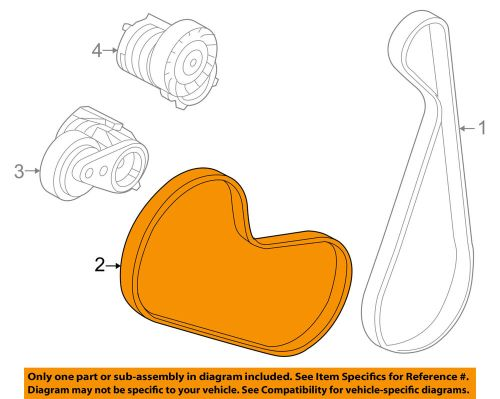 small resolution of details about volvo oem 05 11 s40 a c ac serpentine belt 30777530