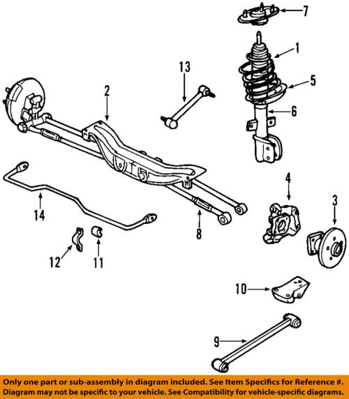 small resolution of details about chevrolet gm oem 12 13 impala rear suspension strut 23269417
