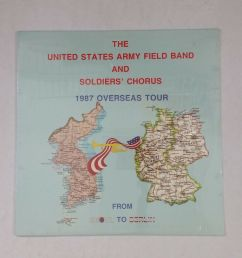 details about united states army field band soldiers chorus 1987 overseas lp vinyl sealed [ 1000 x 1000 Pixel ]