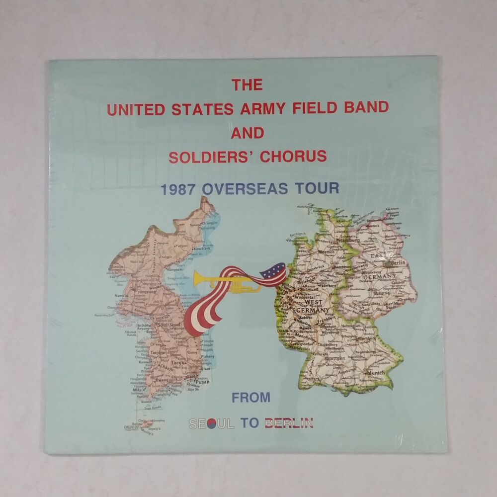 hight resolution of details about united states army field band soldiers chorus 1987 overseas lp vinyl sealed