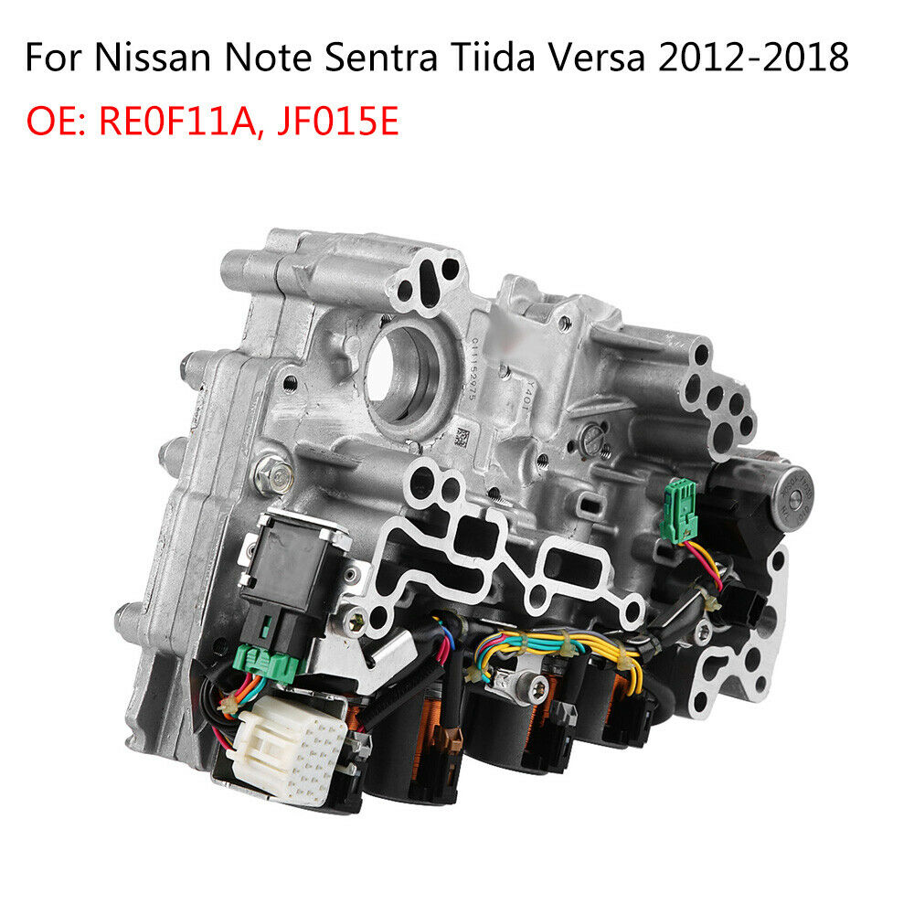 hight resolution of details about oem jf015e re0f11a cvt valve body for nissan tiida note sentra tiida versa 1 6l