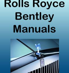 details about rolls royce 1977 80 silver shadow ii workshop parts manual dvd service manuals [ 866 x 1000 Pixel ]