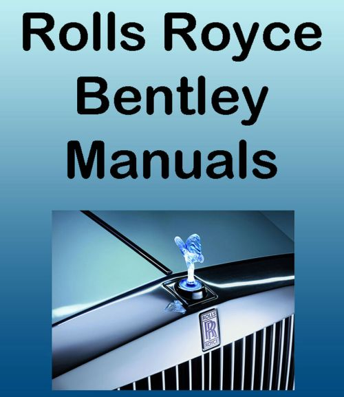 small resolution of details about rolls royce 1977 80 silver shadow ii workshop parts manual dvd service manuals