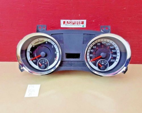 small resolution of details about 2011 2014 chrysler 300 speedometer cluster gauge kmph p68055732af oem