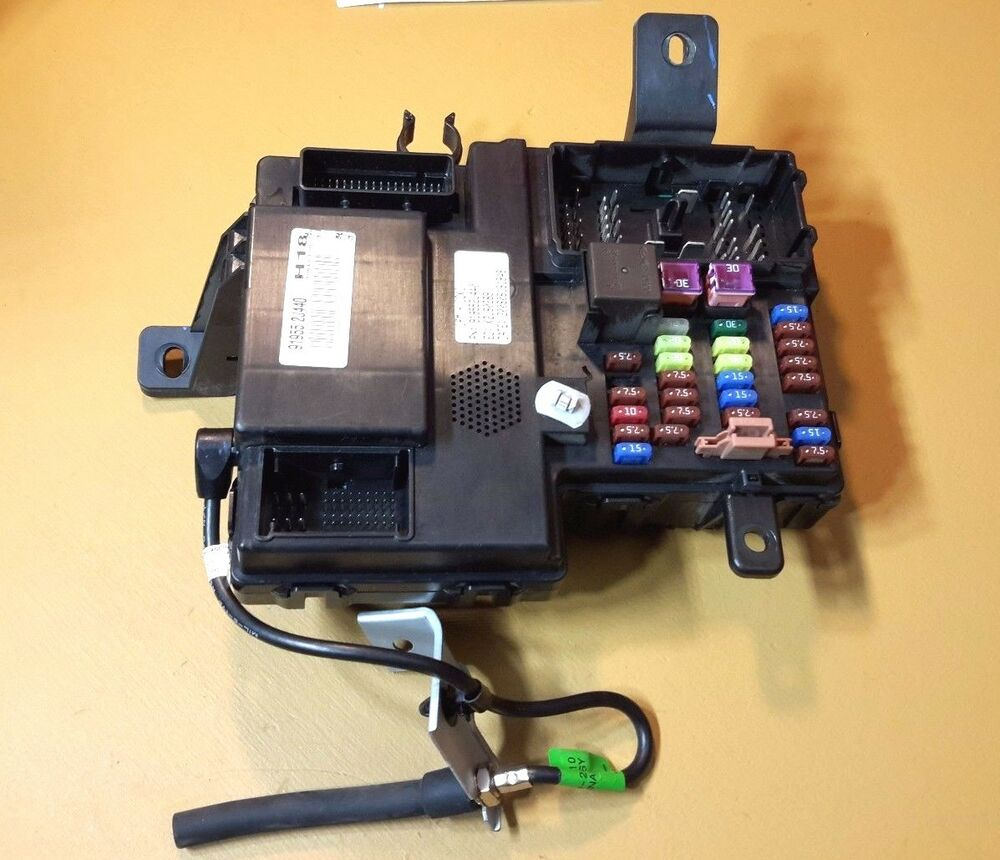 hight resolution of details about 2009 2011 kia borrego under dash cabin fuse box 91955 2j440 oem
