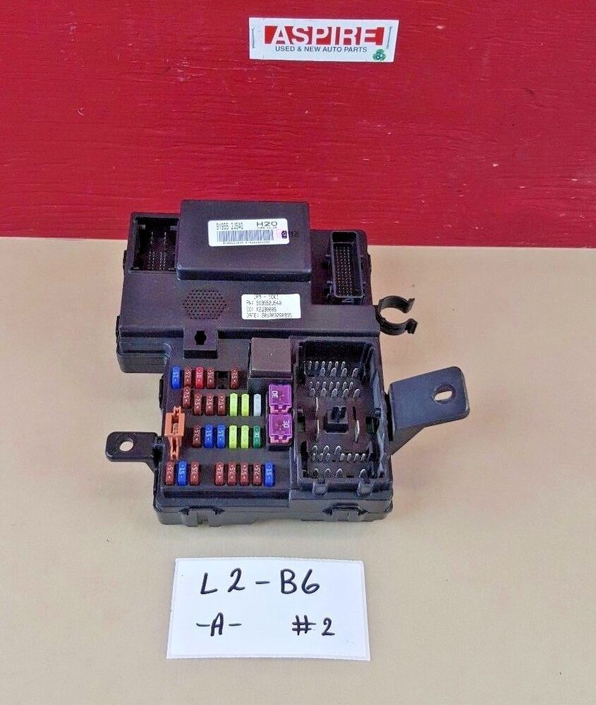 hight resolution of details about 2009 2011 kia borrego cabin under dash fuse relay box 91955 2j540 oem