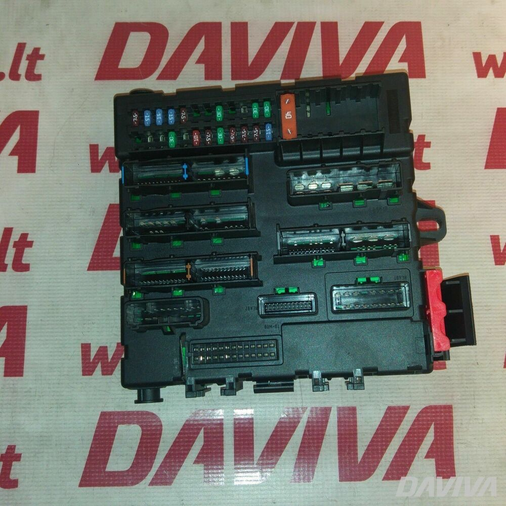 hight resolution of details about saab 9 3 mk2 2003 2009 1 9 tid diesel fuse relay box module unit 12766740