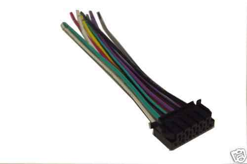 jvc stereo wiring harness