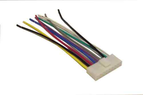 Jvc Wiring Harness Car Stereo 9 Pin Wire Connector Ebay