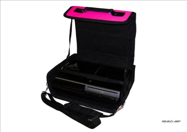 Playstation 3 PS3 Pink Console Carry Bag Case In Car eBay