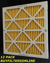 16X25X2 MERV 11 HOME FURNACE A/C PLEATED AIR FILTERS | eBay