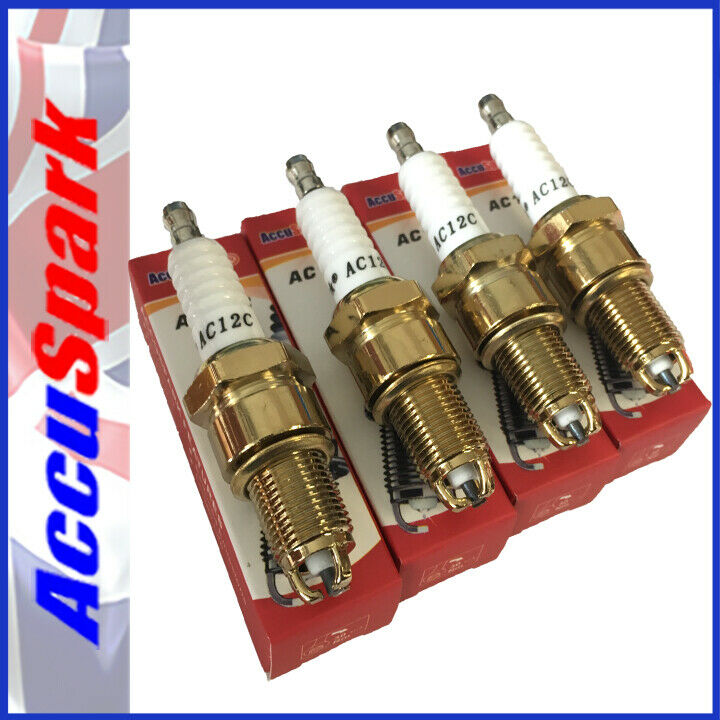 hight resolution of details about accuspark ac12c spark plugs for triumph spitfire 74 80