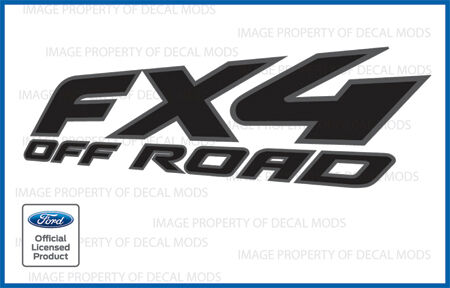2005 Ford F150 Fx4 Off Road Decals Fblk Offroad Stickers