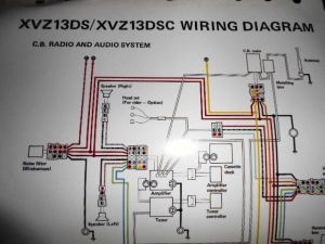 Yamaha OEM Factory Color Wiring Diagram Schematic 1986