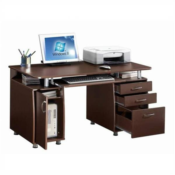 Home Office Computer Desk with Storage