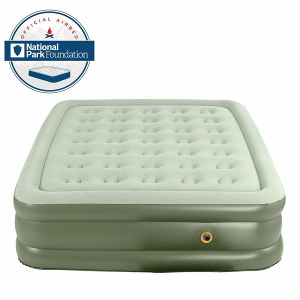 Coleman Double-high Quickbed Twin Inflatable Airbed Mattress Air Bed Wrap