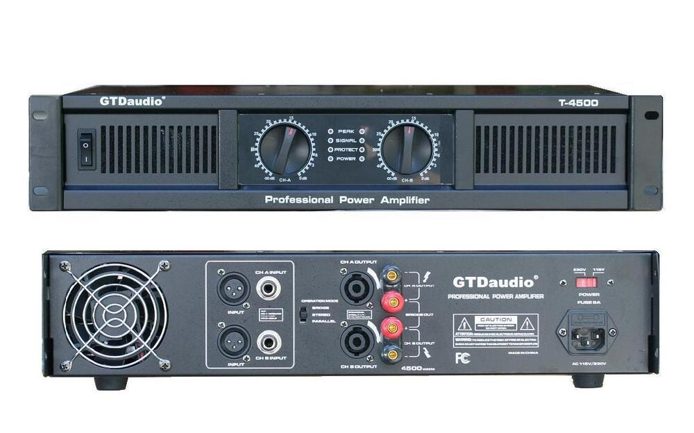 2 Channel Audio Amplifier