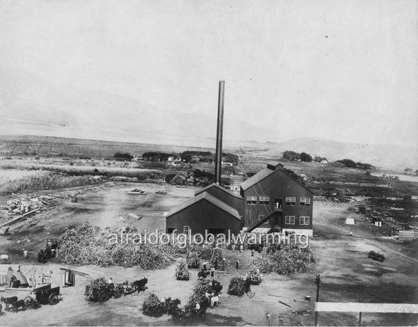 Old Photo pre 1900 Sugar Mill at Wailuku Maui Hawaii eBay