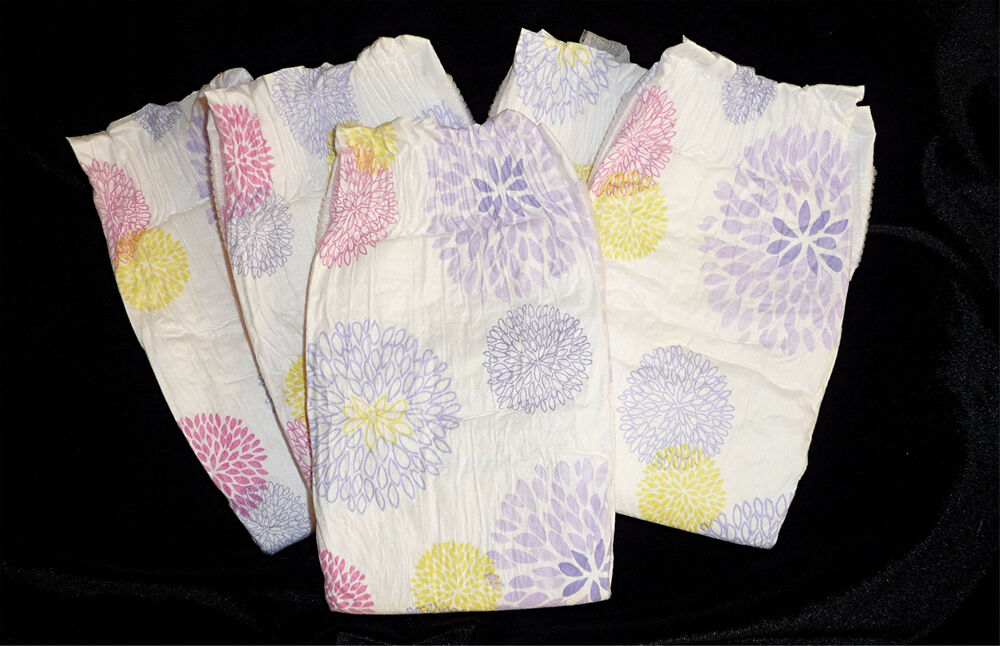 The Honest Co Girls Floral Print Diapers For Reborn Or Baby Doll Set Of 5 EBay