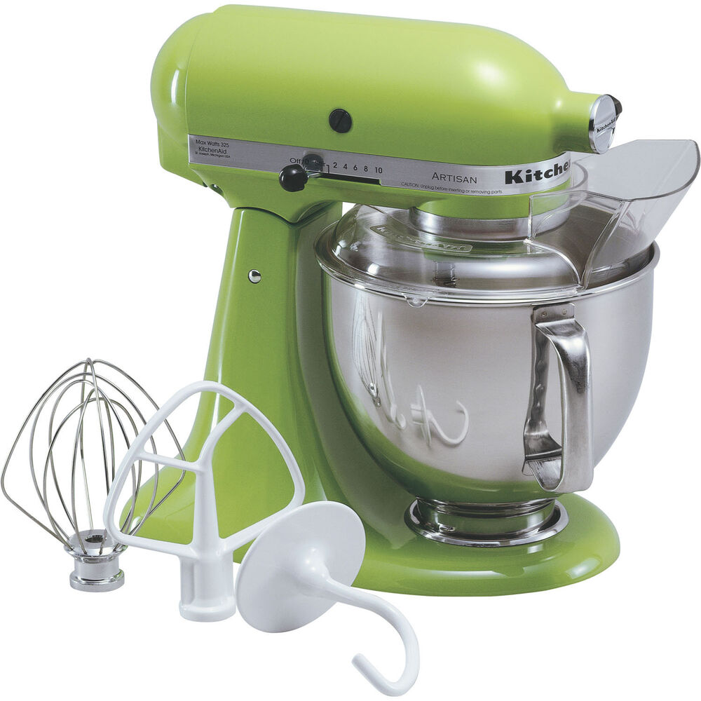KitchenAid Green Apple Artisan 5Quart TiltHead Stand Mixer KSM150PSGA 883049012513  eBay