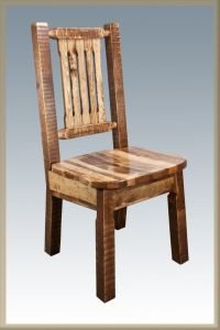 Farmhouse Style Dining Chairs Amish Made Kitchen Chair ...