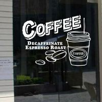 Cake Coffee Shop Window Sign Removable Wall Stickers Vinyl ...