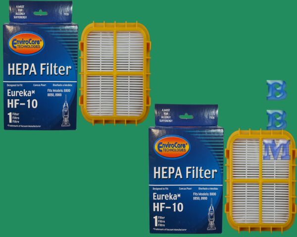 2 Hf 10 Hepa Filter Eureka Upright Vacuum Cleaner Capture Pet 8800 8850 63347