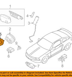 details about ford oem airbag air bag clockspring clock spring ag1z14a664a [ 1000 x 798 Pixel ]