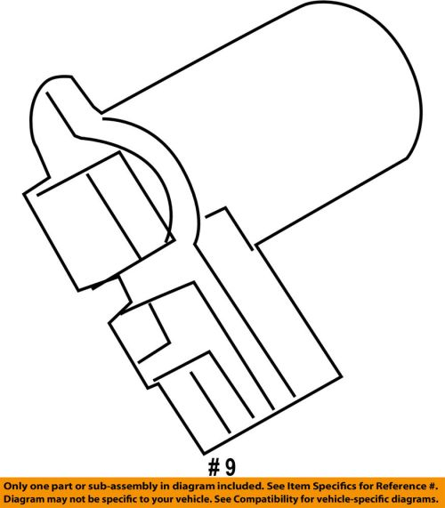 small resolution of details about ford oem vapor canister vent valve control solenoid 9u5z9f945c