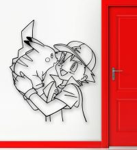 Wall Stickers Vinyl Decal Pokemon Pikachu Anime Kids Baby ...