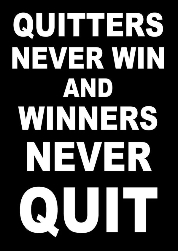 INSPIRATIONAL MOTIVATIONAL QUOTE POSTER BOXING RUNNING