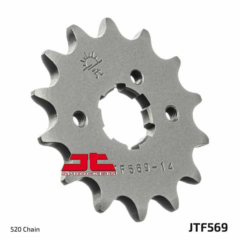 NEW YAMAHA RAPTOR 350 YFM350 12T STEEL FRONT SPROCKET 2004