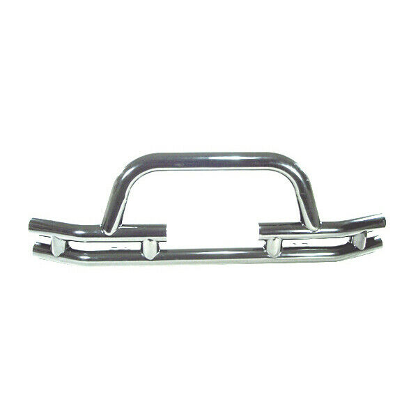 Stainless Steel Front Tube Bumper with Winch Cutout Jeep