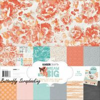DREAM BIG Collection 12X12 Scrapbooking Kit Kaisercraft