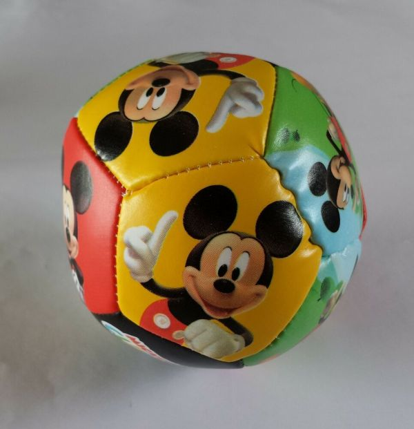 Mickey Mouse Soft Soccer Ball Disney Character Clubhouse