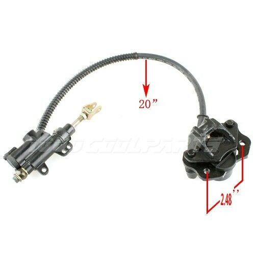 Rear Hydraulic Brake Assembly 50cc 70cc 90cc 110cc 125cc