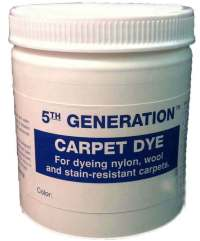 20 oz Carpet Dye 5th Generation cleaning dyers color 1-30 ...