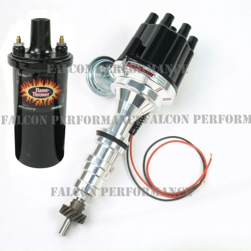 small resolution of pertronix ignitor ii 2 billet flame thrower distributor ford coil wiring harness 69 ford ignition wiring