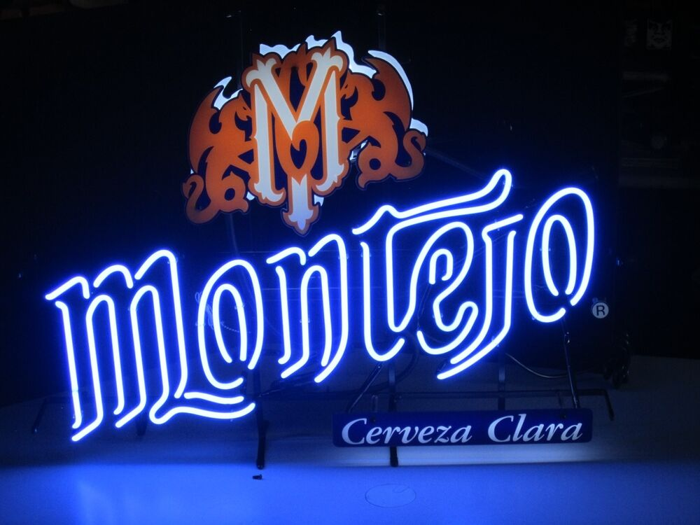 NEW Montejo Cerveza Clara Modelo Neon Beer Sign bar light