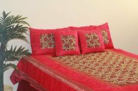 Royal Ethnic Luxury Designer Silk Coverlet Bedspread ...