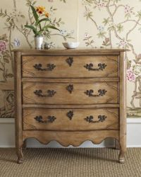 Tuscany Nightstand Three Drawer Distressed French Inspired ...