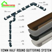 Half Round Guttering - Downpipes - Fittings. Freeflow ...