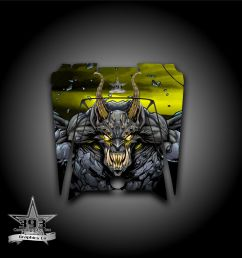 details about polaris rzr xp 900 800 570 utv graphics hood decal 2011 2014 guardian yellow [ 1000 x 1000 Pixel ]