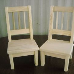 American Girl Doll Chairs Blue High Back Handmade Chairs-set Of 2-for 18 Inch | Ebay