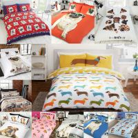 Pug Puppy Dog / Cute Pooch / Bulldog Duvet Quilt Cover ...