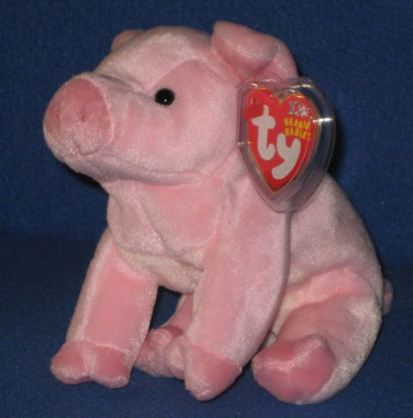 Ty Hamlet Pig Beanie Baby - Mint With Tags