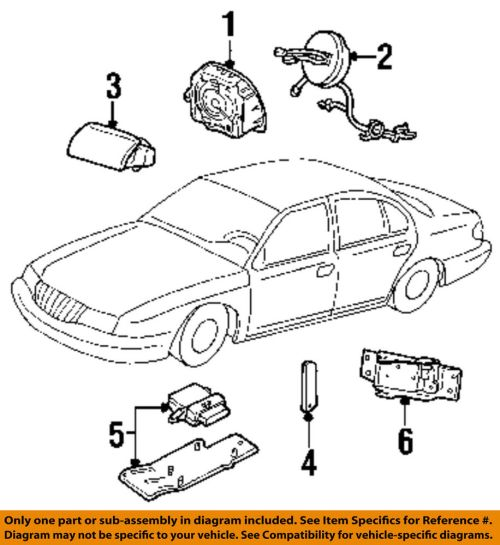 small resolution of 2000 lincoln ls v8 engine diagram lincoln parts lincoln ford oem airbag air bag clockspring clock spring